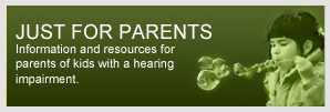 Information and resources for hearing impaired children