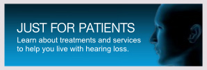 Resources for patients coping with hearing loss